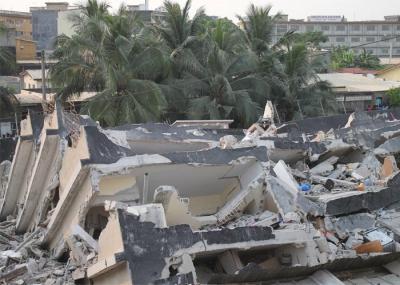 Niangon drame un mur s 39 effondre sur un couple - Maison qui s affaisse ...